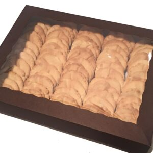 "Large Box <br /> <span style=""font-size: 11px !important;"">70 large cookies</span>"
