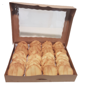 "Mixed Box <br /> <span style=""font-size: 11px !important;"">45 large cookies</span>"